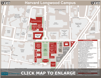 Harvard Medical Campus Map - Click to enlarge